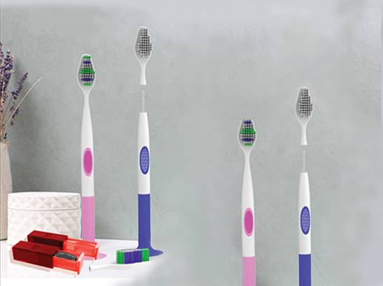 <span>헤드 분리형 칫솔 & 헤드 살균기 (Head Detachable Toothbrush & Head Sterilizer)</span><i>→</i>